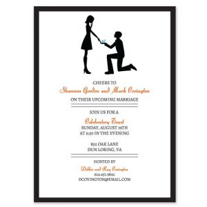Say Yes Invitation