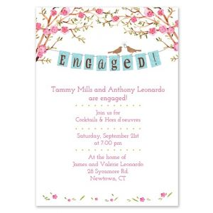 Engaged Banner Invitation