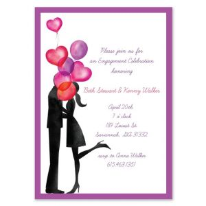 Balloon Love Invitation