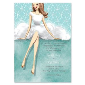 Lovely Dress Invitation