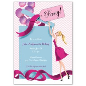 Gift Girl Invitation