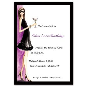 Night Out Invitation