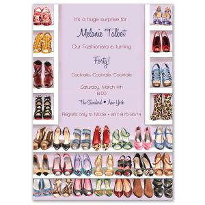 Shoe Closet Invitation