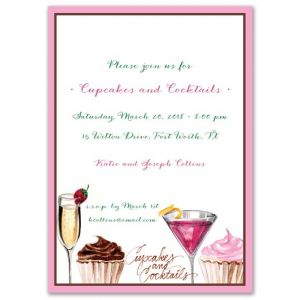Sweets & Cocktail Invitation