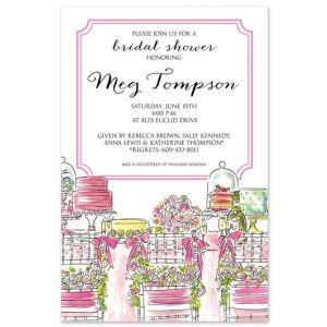 Bridal Table Invitation
