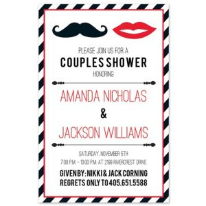 Mr. & Mrs. Invitation
