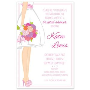 Summer Bride Invitation