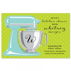 Sweet Mixer Invitation