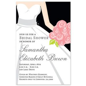 Bride Glow Invitation