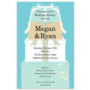 Wedding Stack Invitation