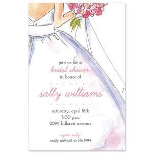 Sweet Bride Invitation
