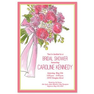 Bridal Bouquet Invitation
