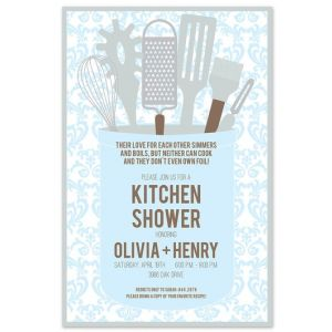 Kitchen Gleam Invitation