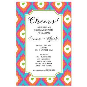 Ikat Summer Invitation