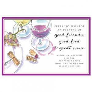 Wine Setting Invitation