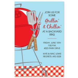 Summer Grill Invitation