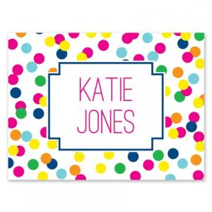 Confetti Note Card