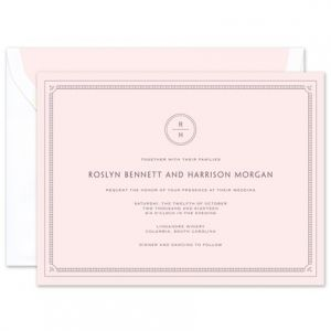 Pink Frame Invitation