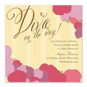 Diva Coming Invitation