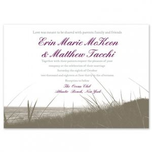 Beach Grass Invitation