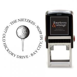 Golf Tee Stamp