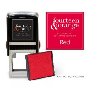 Square Red Ink Refill