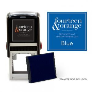 Square Blue Ink Refill