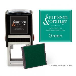 Square Green Ink Refill