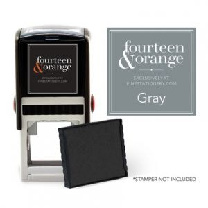 Square Gray Ink Refill