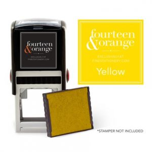 Square Yellow Ink Refill