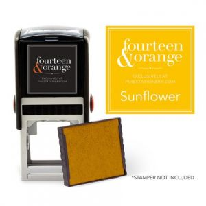 Square Sunflower Ink Refill