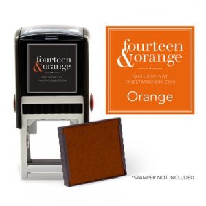 Square Orange Ink Refill