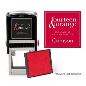 Square Crimson Ink Refill