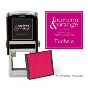Square Fuchsia Ink Refill