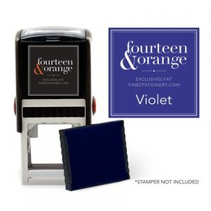 Square Violet Ink Refill