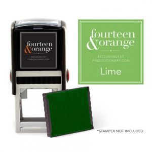 Square Lime Ink Refill