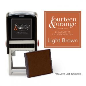 Square Brown Ink Refill