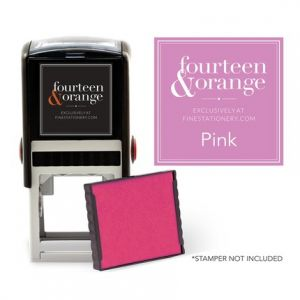 Square Pink Ink Refill