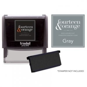 Rectangle Gray Ink Refill
