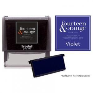 Rectangle Violet Ink Refill