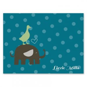 Elephant Friend Note Card