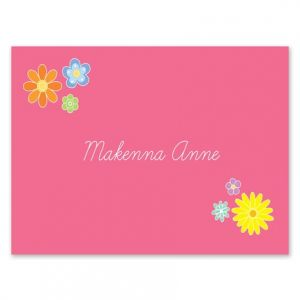 Flower Power Note Card