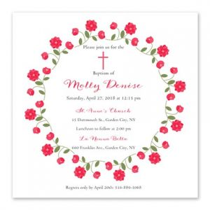 Rose Ring Invitation