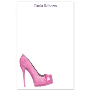 Pink Pump Note Pad