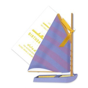 Sail Boat Invitation