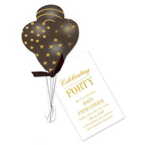 Balloon Bouquet Invitation