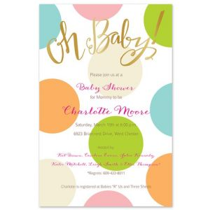 Oh Baby! Invitation