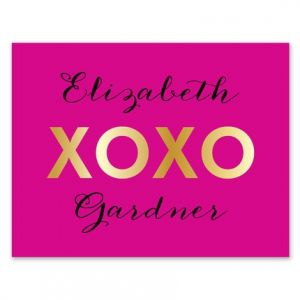 XOXO Note Card