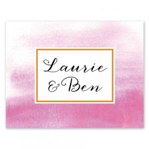 Bright Ombre Note Card