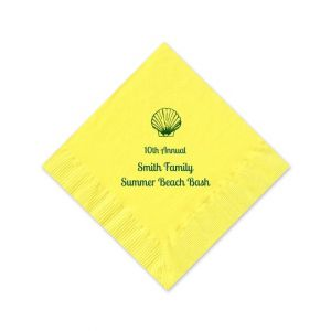 Mimosa Beverage Napkin